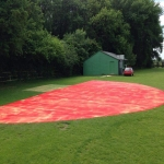 Athletic High Jump Landing Mat in Aingers Green 10