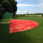 Athletic High Jump Landing Mat in Aingers Green 7