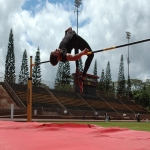 High Jump Runway in Acol 6