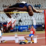 Athletic High Jump Landing Mat in Abercwmboi 7