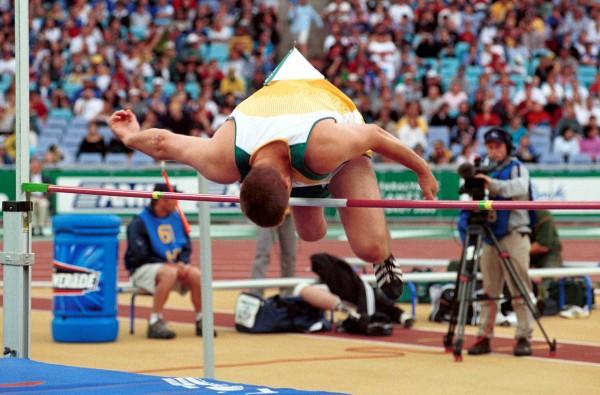 High Jump Landing Mats In Ards Athletics Safety Matting